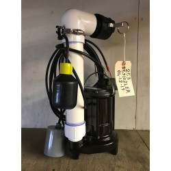"""253 Effluent Pump """"Set-up"""" with float switches & disconnect"""